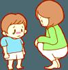 子どもをしつける親